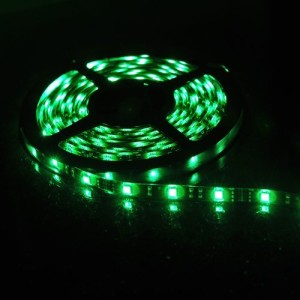 LEDs when color is set to green