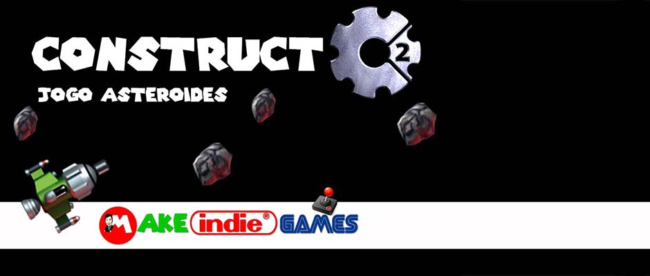 Construct 2 - Jogo asteroides
