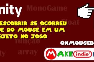 Unity - Clique do mouse em um objeto no jogo