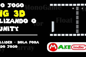 Pong 3D - 07 Box Collider - Bola fora do jogo