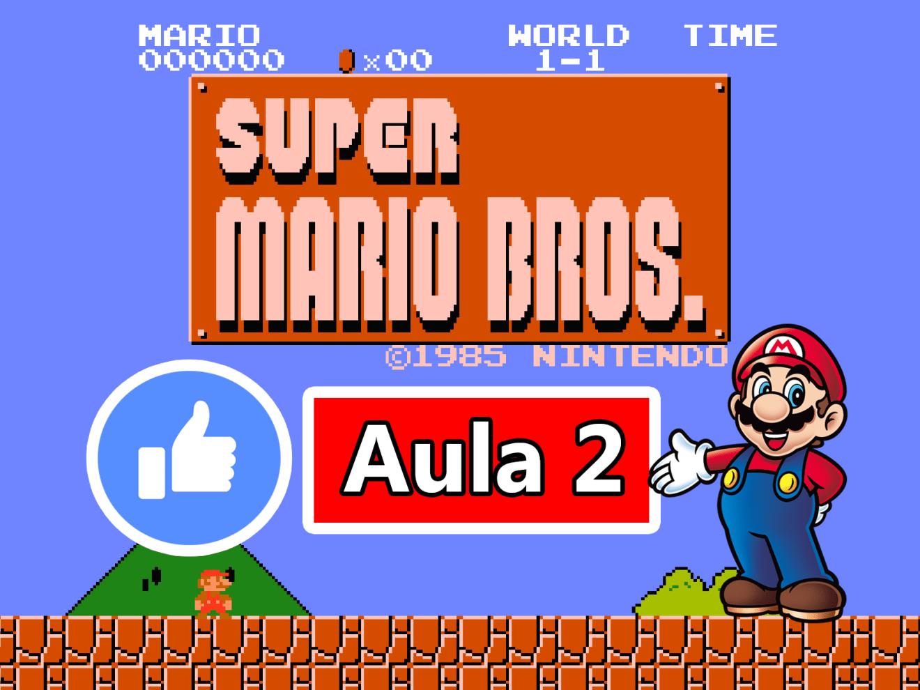 GAMEMAKER – CRIANDO O JOGO DO SUPER MARIO BROS #AULA2
