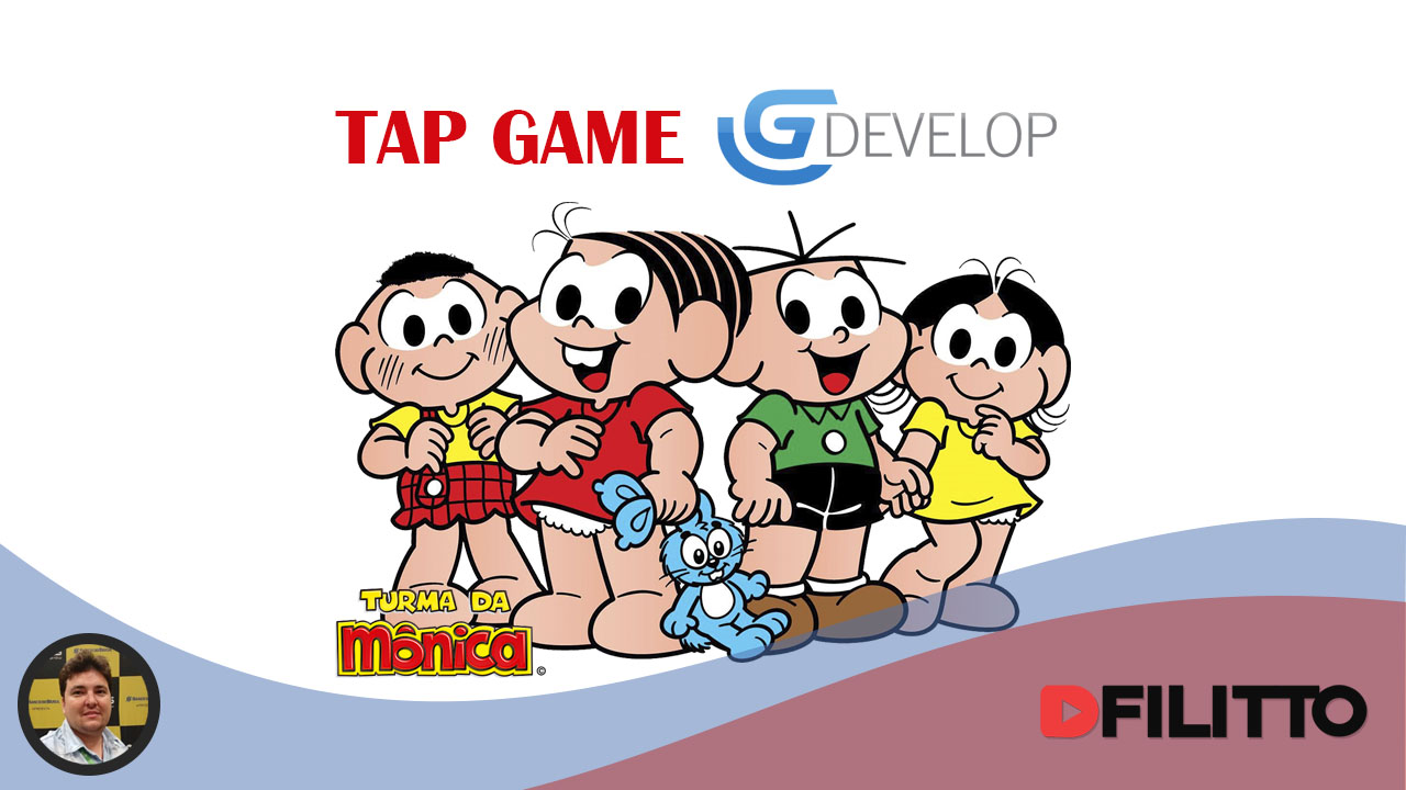 GDevelop - Turma da Mônica Tap Game