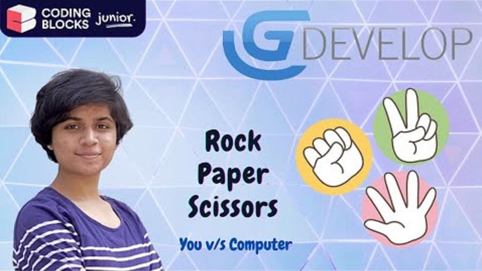Como construir o jogo de pedra papel ou tesoura no GDevelop