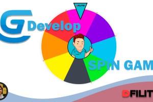 Construindo o jogo Spin Game no GDevelop