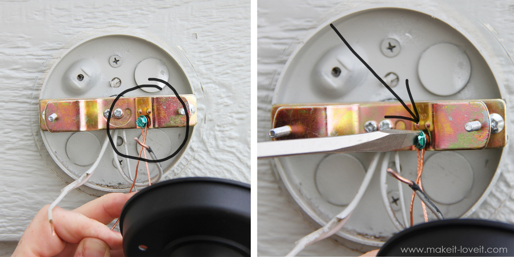 Wiring Wall Lights To Ceiling