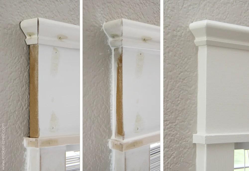 caulk window trim