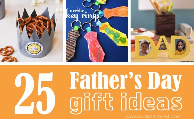 25 Homemade Father S Day Gift Ideas Make It And Love It