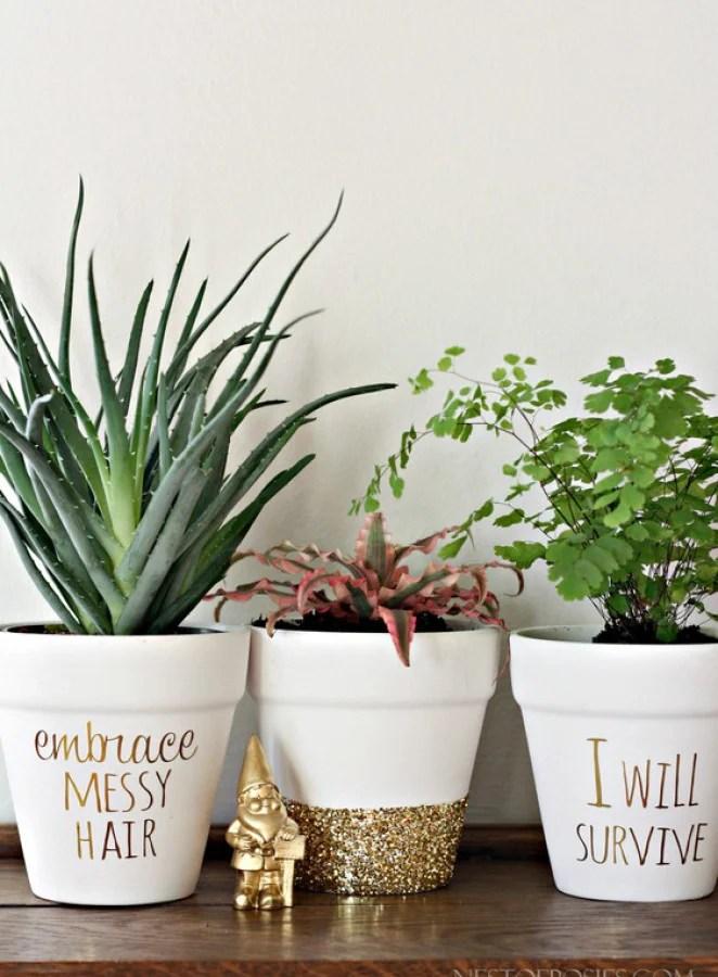 25 DIY Painted Flower Pot Ideas You'll LOVE