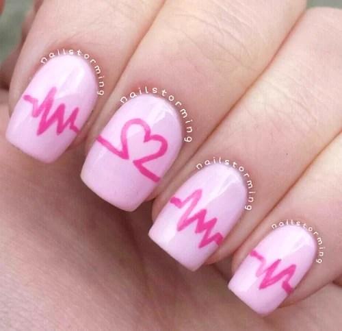 Valentines Day Nail Art 10