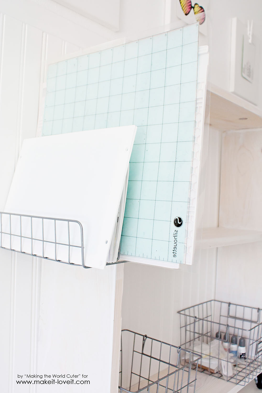 Easy DIY craft cart tutorial (14)