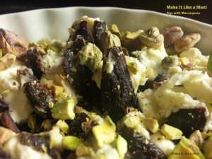 Figs with Mascarpone, via Make It Like a Man!