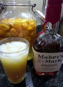 Kumquat Cocktail, via Make It Like a Man!