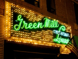"""""""Green Mill,"""" from Guest of a Guest, via Make It Like a Man! Free Wi-Fi in Uptown"""