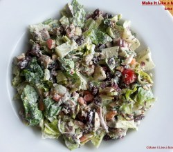 Salad with Ranch, from Make It Like a Man!