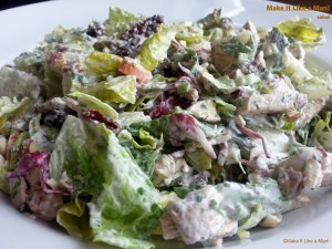 Salad and Ranch Dressing, from Make It Like a Man!