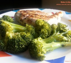 Chicken and Broccoli, from Make It Like a Man! Chicken, Broccoli, and Raspberries