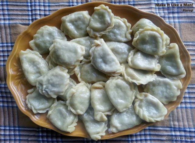 """""""How To Assemble Pierogi: Rolling, Stuffing, Sealing, and Boiling,"""" from Make It Like a Man!"""