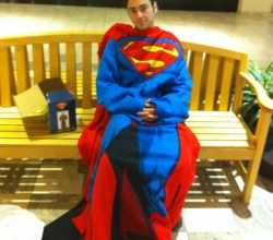 """Superman in a Snuggie,"" via Nerds Raging, via Make It Like a Man!"