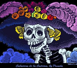 """La Catrina,"" from Radio Border, via Make It Like a Man!"