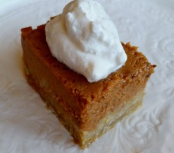 """Pumpkin Pie Bars,"" from Make It Like a Man!"
