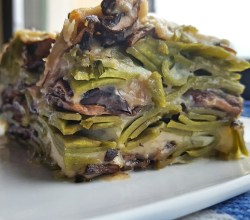 """Spinach-Mushroom Lasagna,"" from Make It Like a Man!"