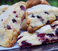 """Blackberry Scones,"" from Make It Like a Man!"