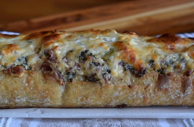 """""""Feta-Stuffed French Bread,"""" from Make It Like a Man!"""