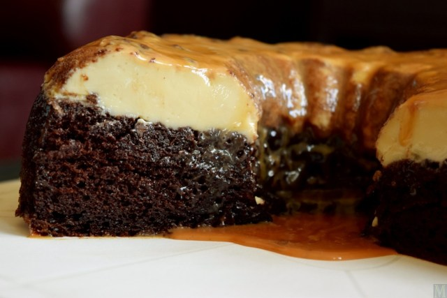 """Chocoflan,"" from Make It Like a Man!"