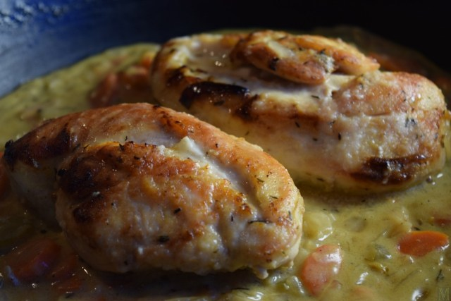 """Chicken Fricassee,"" from Make It Like a Man!"