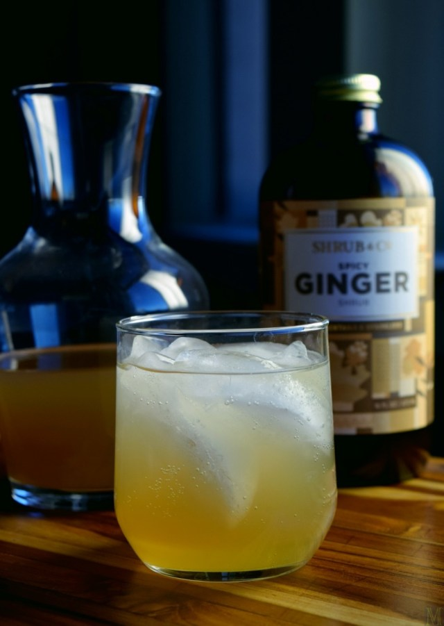 """Ginger Shrub Cocktail,"" from Make It Like a Man!"