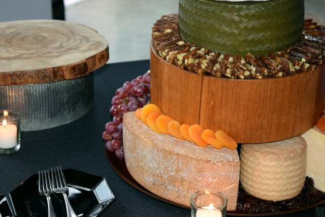 """""""Five-Tier Cheese Wheel Wedding Cake,"""" from Make It Like a Man!"""