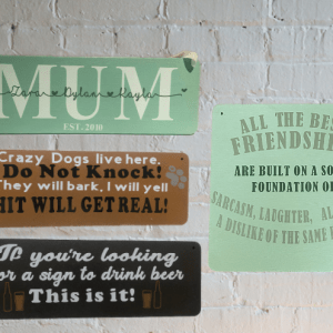 Plaques & Signs