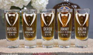 Bachelor Bachelorette Party Shot Glasses