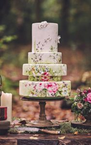 Guest List Wedding Cake