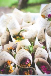 floral confetti event planner