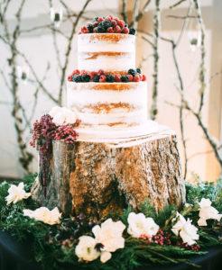 Wedding Planner Naked Cake