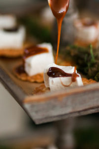 Fall wedding catering