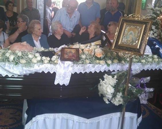 Αποτέλεσμα εικόνας για κηδεία Παττακού