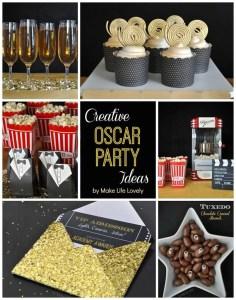 Creative Oscars Party Ideas + Film Reel Cupcakes