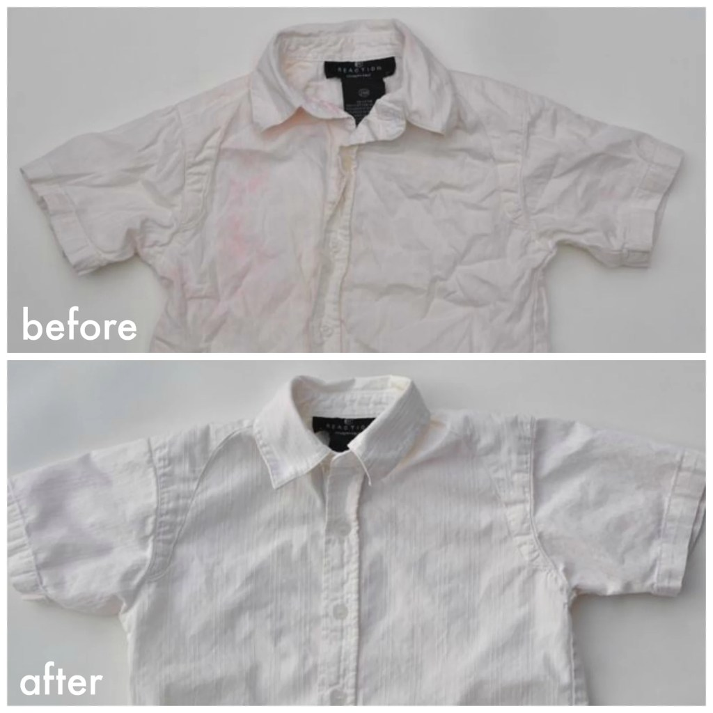 How to bleach your clothes