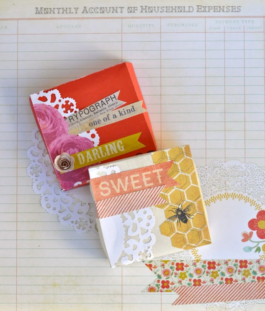 DIY Candy box with Sizzix