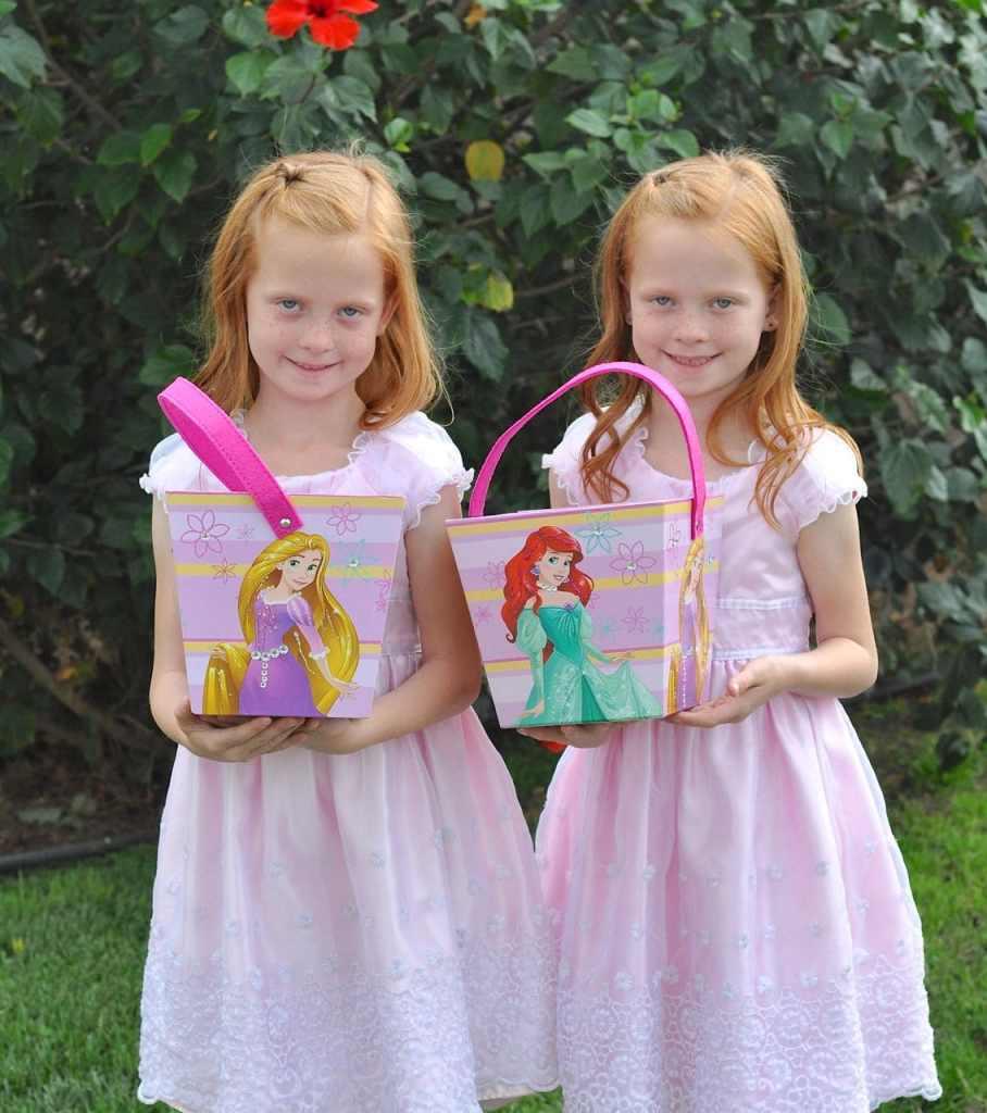 Disney princess Easter baskets