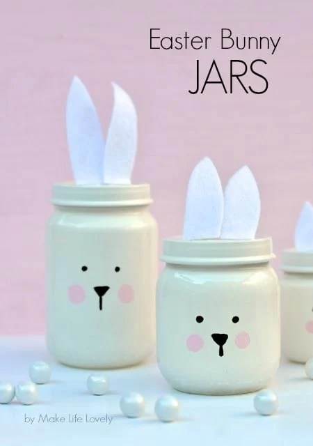 Easter Crafts Baby Food Jars