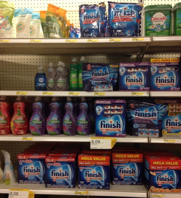 Finish at Target