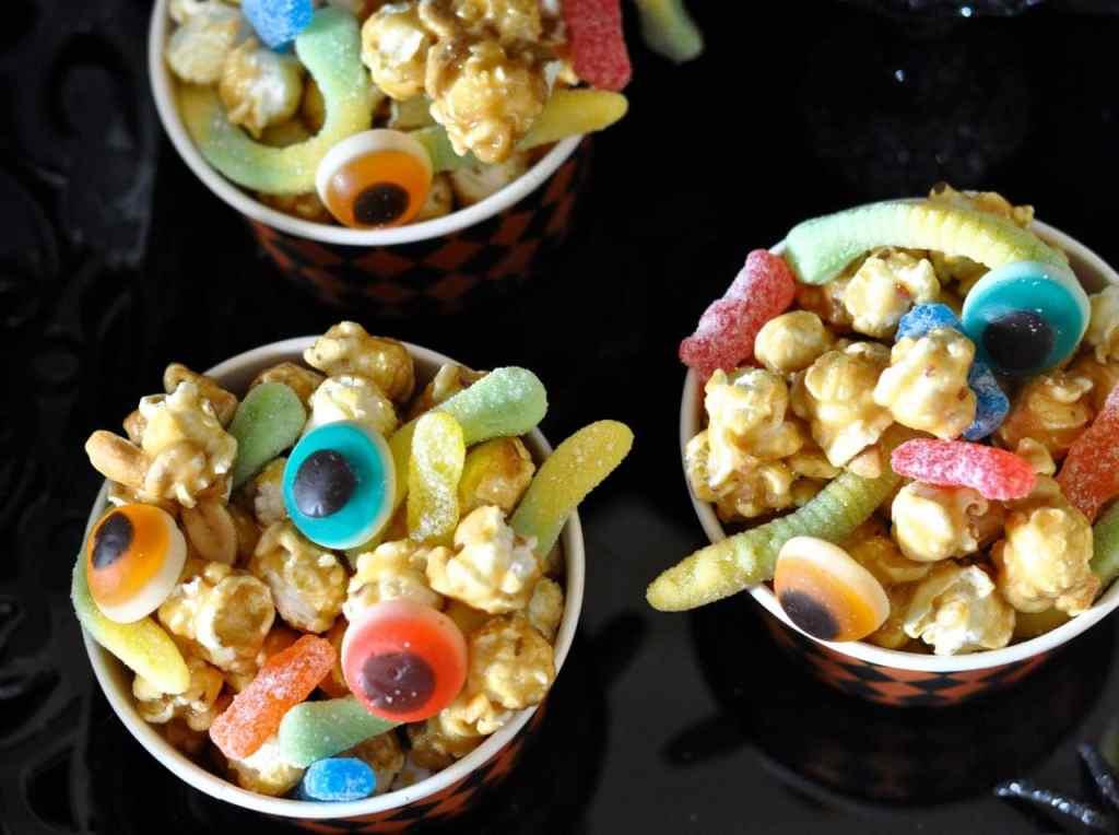 Halloween Popcorn Treat