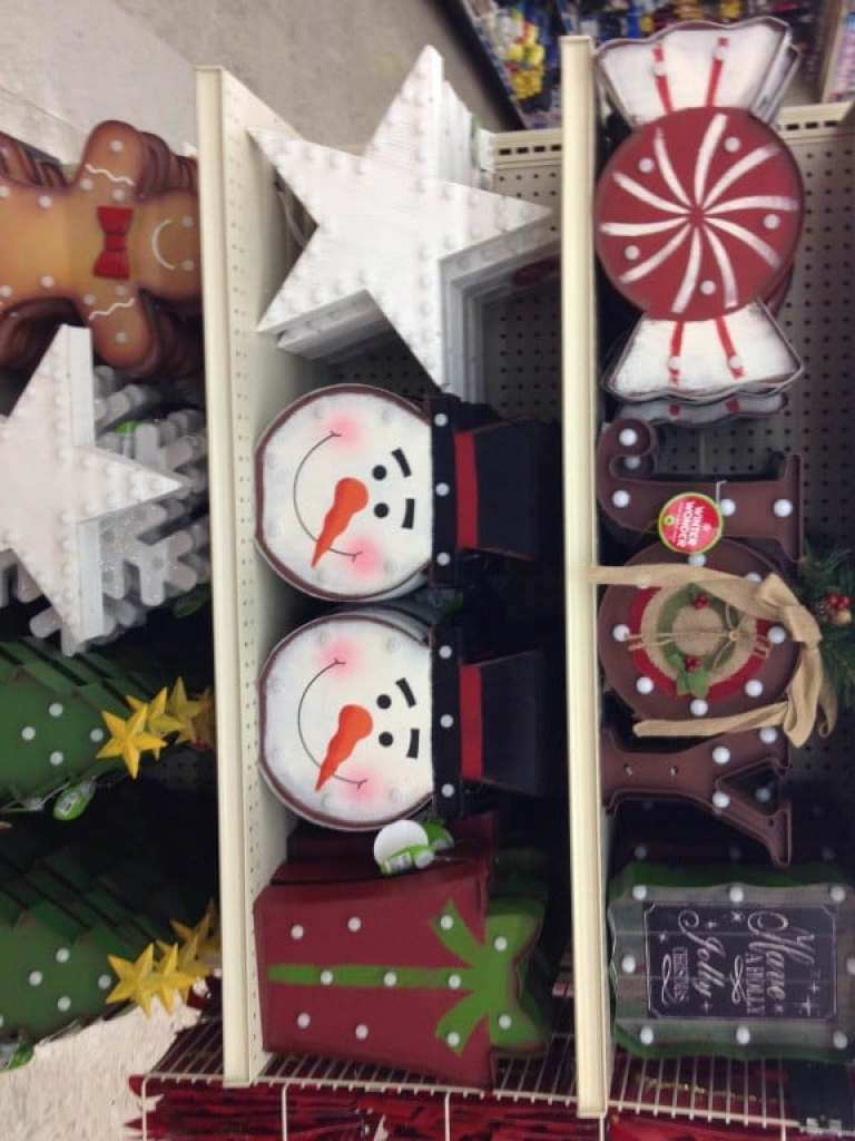 Big Lots Holiday Decor