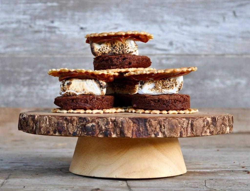 Brownie Dulce de Leche S'mores