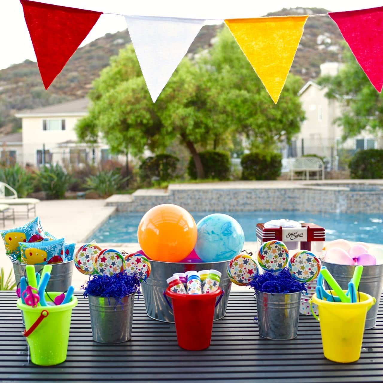 Summer is the best time to have a fun slumber party! These ideas and tips for hosting a Slumber Party this summer will make it fun and create lasting memories for you and the kids! What says summer more than a fabulous Luau Party?