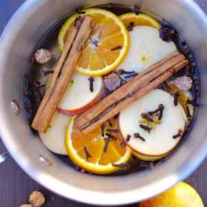Fall Stovetop Potpourri Recipe