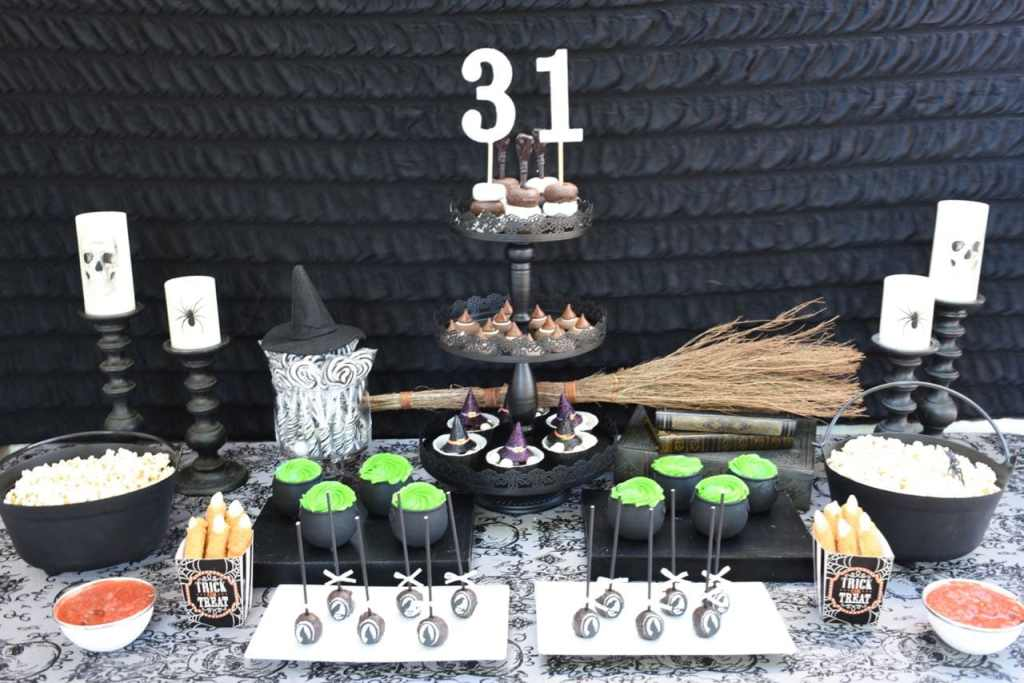 Witch Halloween party ideas
